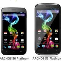 Archos se lance dans les smartphones avec trois modèles