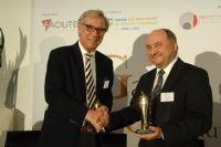 Philippe Darson de chez Bristol-Myers Squibb (à gauche)et Patrick Zileinski de Schneider Electric (à droite).