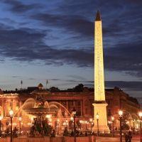 La Place de la Concorde s'illumine en basse consommation
