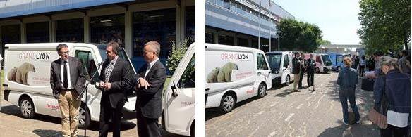 Le Grand Lyon commande deux véhicules modulables 'zéro émission'