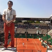 Des hôtesses Mahola à Roland-Garros