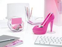 Des accessoires girly pour le bureau