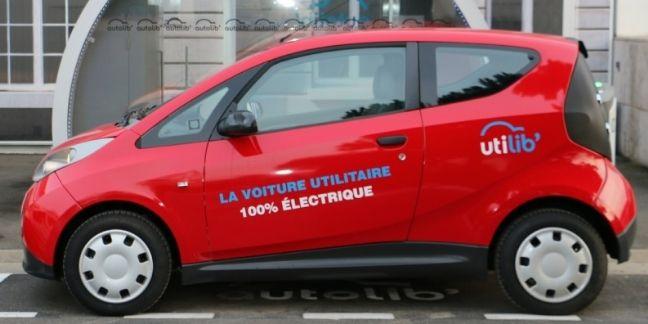 Utilib', un utilitaire 100% électrique en libre-service à Paris