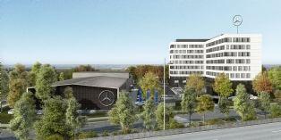 Mercedez-Benz France s'implante à Montigny-le-Bretonneux