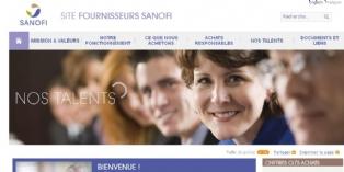 Sanofi lance son site internet fournisseurs