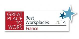 Great Place to Work publie son classement pour 2014