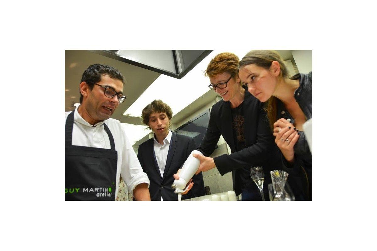 Un team building culinaire qui fait voyager for Atelier guy martin cours cuisine