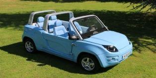 Bolloré présente un cabriolet 100% électrique