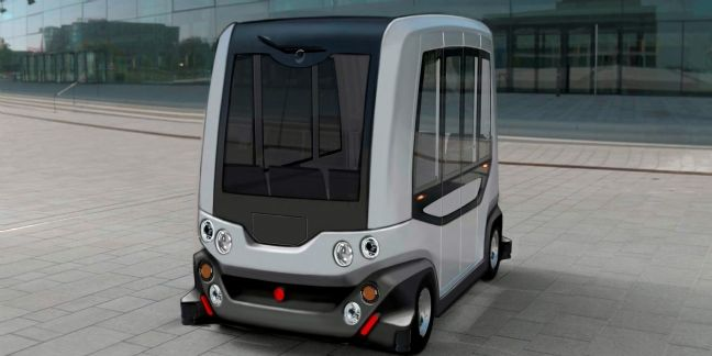 Easy Mile, le 1er véhicule électrique sans chauffeur
