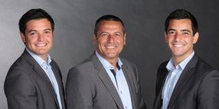 De gauche à droite, Hugo, Alain et Axel Manoukian, les trois fondateurs de MySuccess