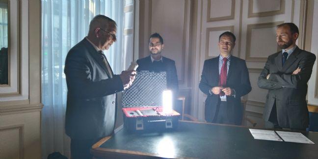 Saint-Leu-la-Forêt et Roye espèrent faire 60% d'économie avec un système d'éclairage innovant