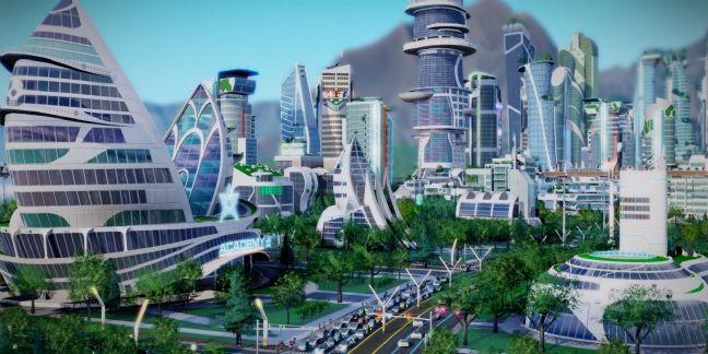 Extrait du jeu Sim City