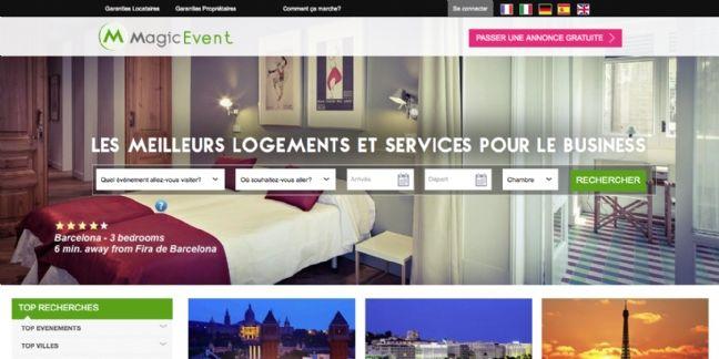 MagicEvent, l'hébergement collaboratif pour les déplacements professionnels