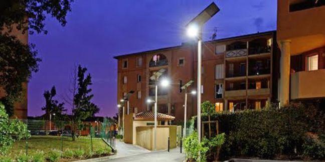 Un éclairage urbain autonome et connecté avec Carré Products