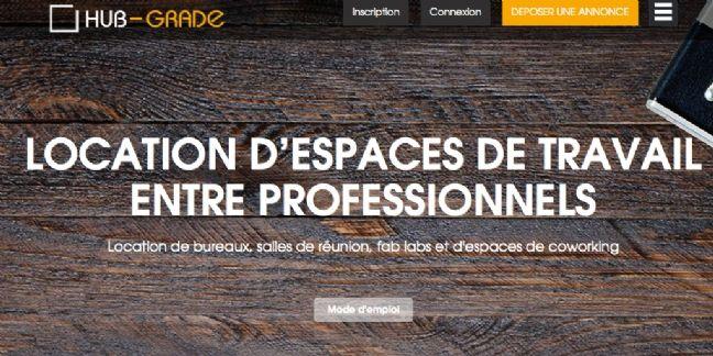 Hub-Grade propose la location de bureaux entre professionnels