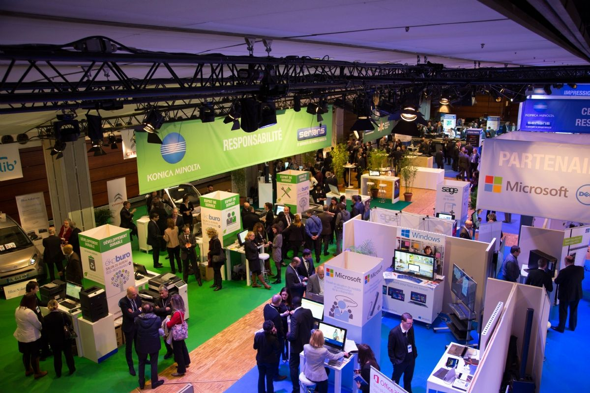 Ekoburo salon des solutions innovantes au service du for Salon solutions