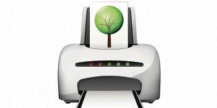 Les fabricants d'imprimantes se mettent à la page...verte !