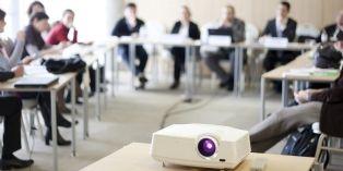 Les vidéoprojecteurs se font plus interactifs