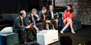 La table-ronde 'Qu'est-ce qu'une relation acheteur-fournisseur responsable ?', en présence, notamment de Marc Sauvage (à gauche).