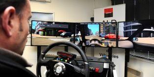 Le recours au simulateur de conduite permet de réagir à toutes sorte de dangers.