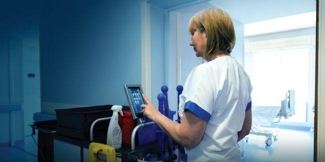 Le chariot communicant pour les établissements hospitaliers