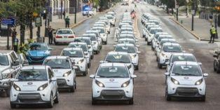 Bolloré installe les les AutoLib' aux Etats-Unis
