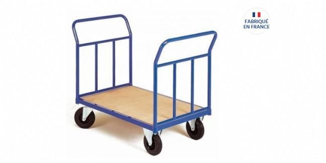 Chariot de manutention fabriqué en France vendu par Rolléco.fr.