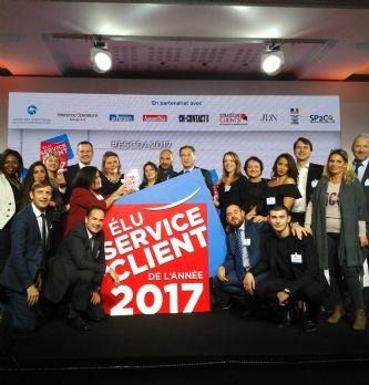 ALD Automotive élu 'Service client de l'année' dans la catégorie LLD
