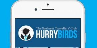 Hurrybirds, un réseau social pour les voyageurs d'affaires