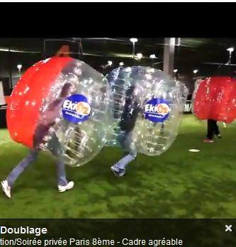 MICE: Le Bubble foot, une activité de team building originale