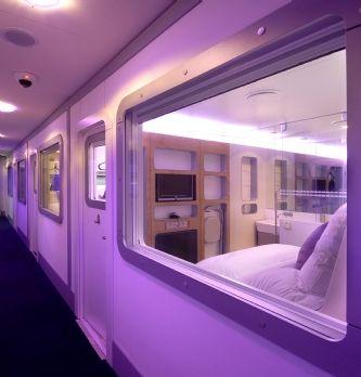 Des chambres cabines high-tech dans la zone de transit de l'aéroport CDG
