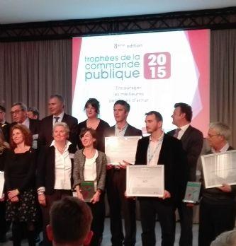 Performance de l'achat et achat durable récompensés lors des Trophées de la commande publique