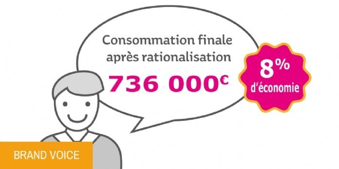 Les marques propres pour rationaliser ses achats indirects - infographie