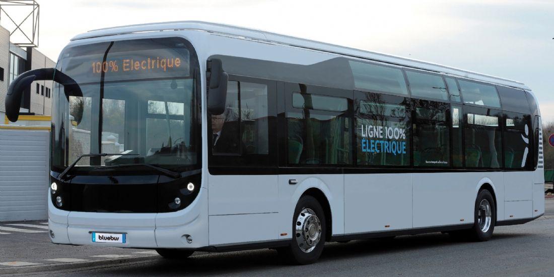 Brest métropole expérimente un bus électrique