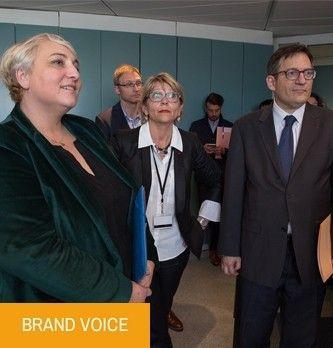 Silver Economie : un espace web dédié présenté à la ministre Pascale Boistard