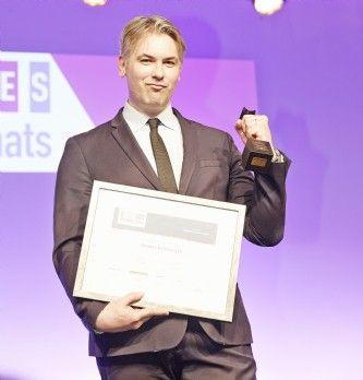 [Trophées 2017] Franck Barrailler (INPI) décroche le prix de bronze