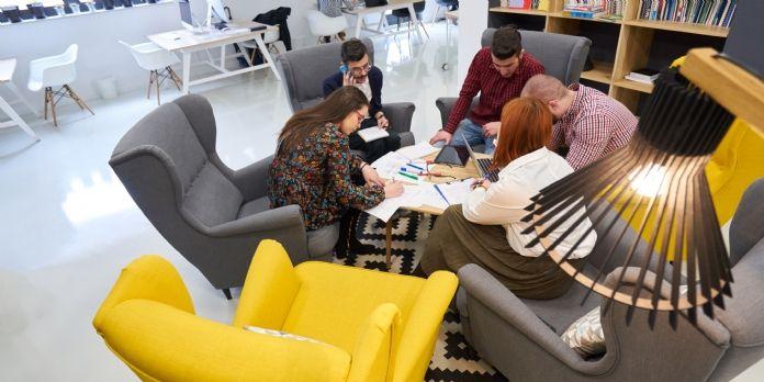 Startups : des bureaux pensés pour fidéliser et attirer les talents