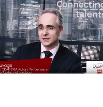 """[Vidéo] """"Il faut associer le juridique, la commande publique et les achats pour rechercher de la performance"""" - Marc Sau..."""