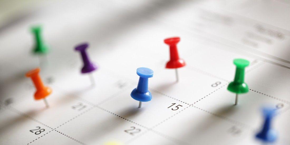L'agenda de l'acheteur en avril 2017