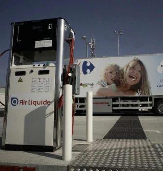 Carrefour, 1er distributeur français à déployer une flotte de camions roulant au biomethane