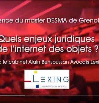 Quels sont les enjeux juridiques de l'internet des objets?