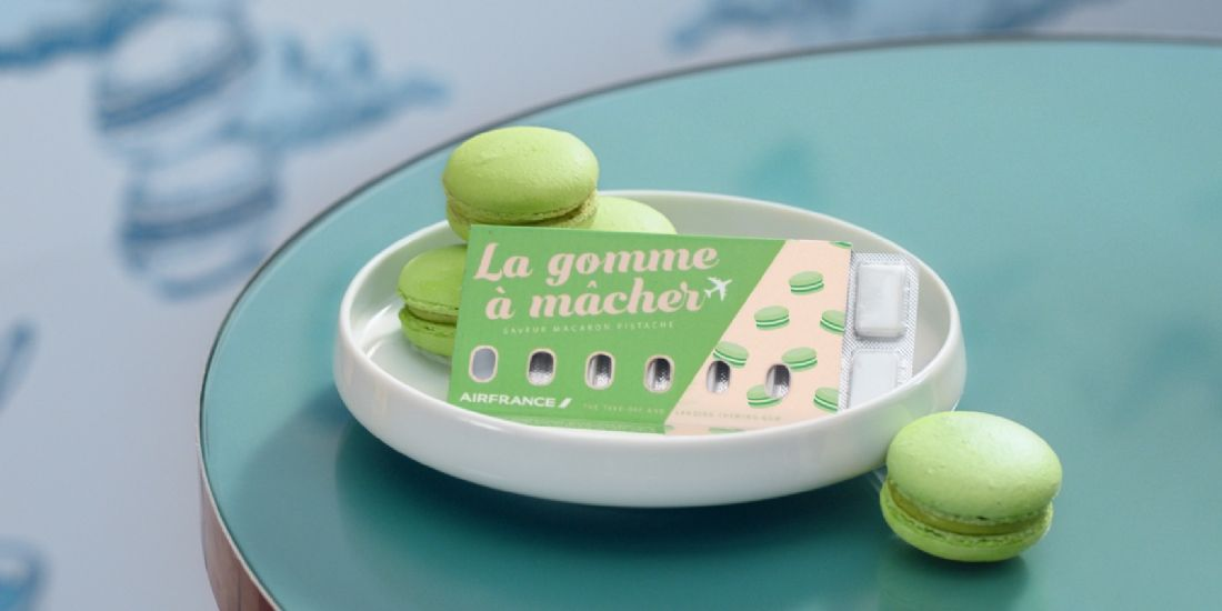 Voyage en avion: Air France propose la gomme à mâcher anti mal d'oreilles !