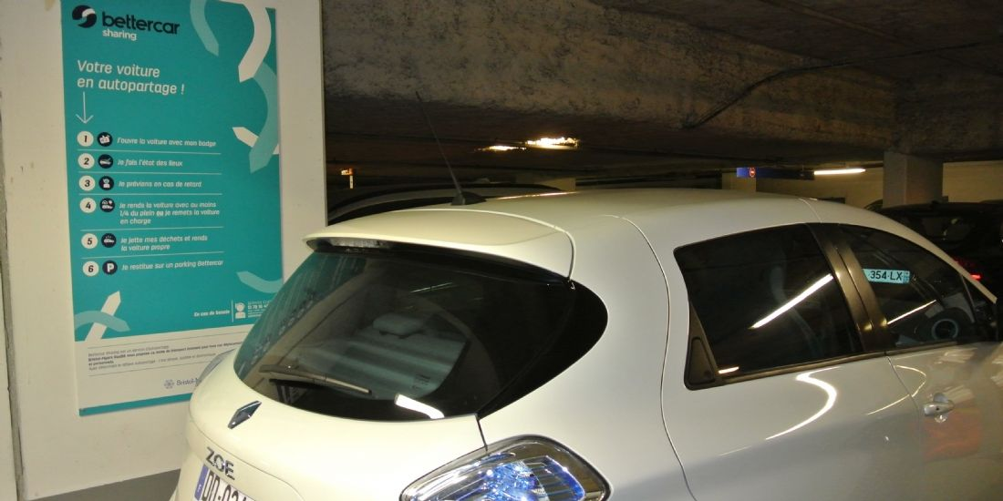 Grand Paris Aménagement propose des véhicules électriques en autopartage à ses collaborateurs