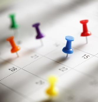 L'agenda des acheteurs en janvier 2018