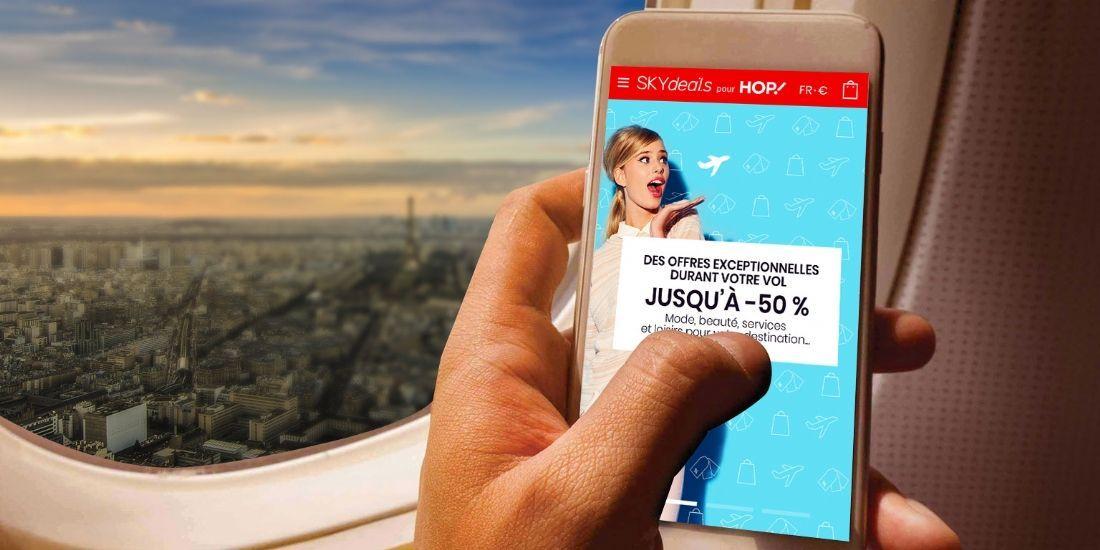 HOP! proposera du shopping en ligne à bord de ses avions