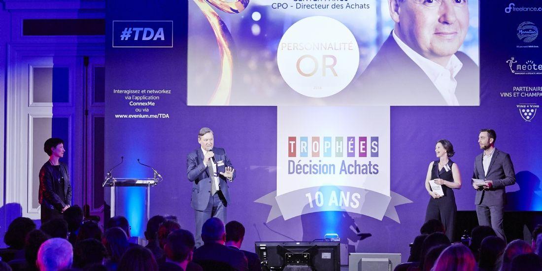 Trophées Décision Achats / CNA: un anniversaire du tonnerre !