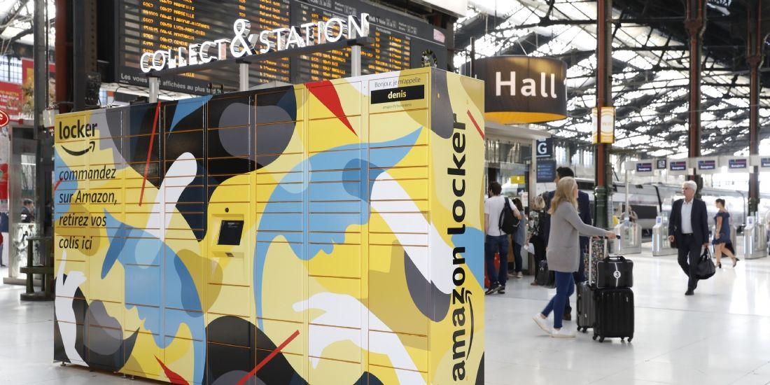 Des consignes Amazon dans les gares françaises