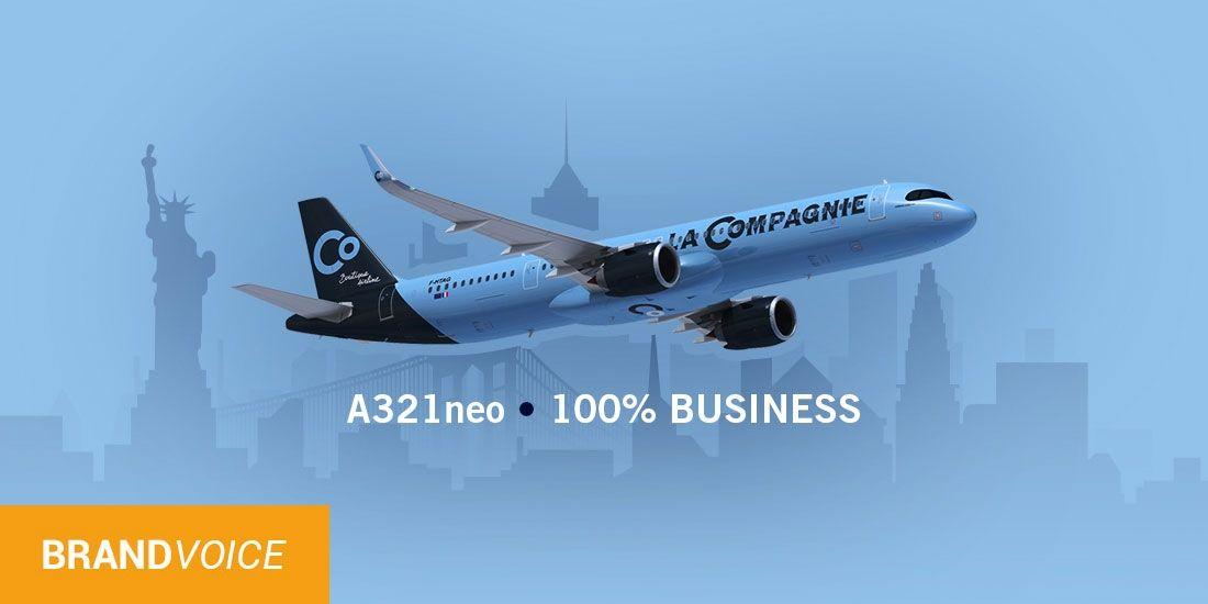 Découvrez les nouveaux A321neo de La Compagnie au Salon IFTM Top Resa