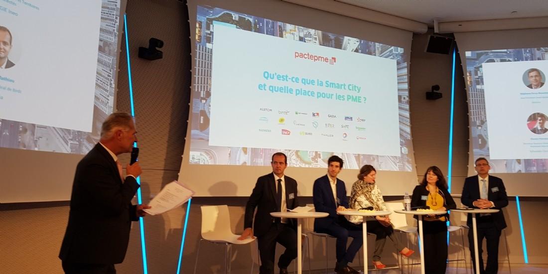 PME et grands groupes de concert pour construire les villes du futur