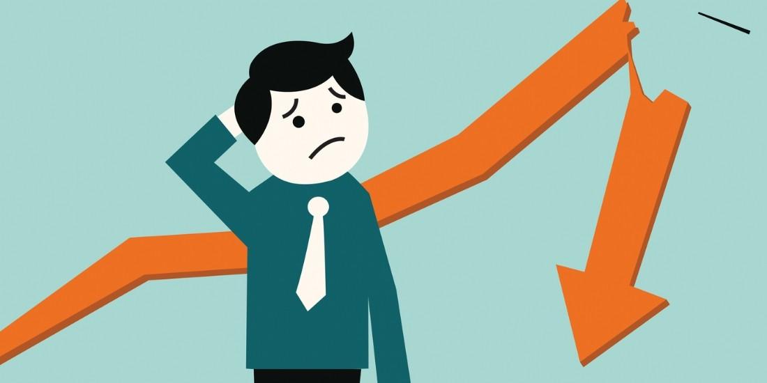 Les défaillances d'entreprises en France sont moins nombreuses mais de plus grande taille
